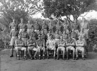 "242 Battery ""G"" Troop, Sicily, July 1943"