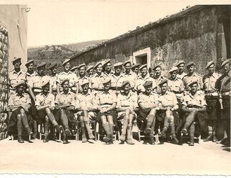 5th Camerons (Officers), Fleri, Aug 1943