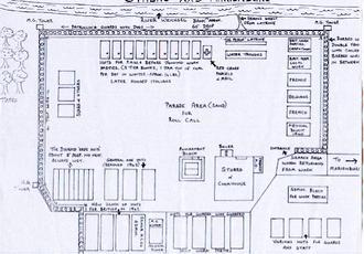 Sketch Map, Stalag XXb, Marienburg