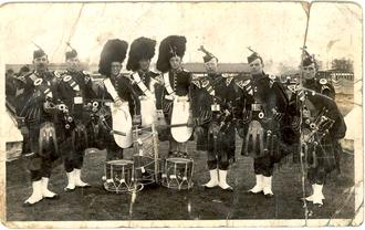 Seaforth TA pipes & drums