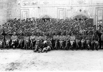 152 Brigade, Sicily, 1943