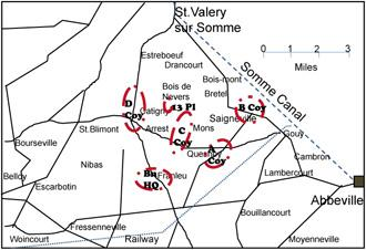 Franleu sketch map