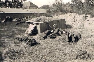 POW Huts, Schubin, 1940