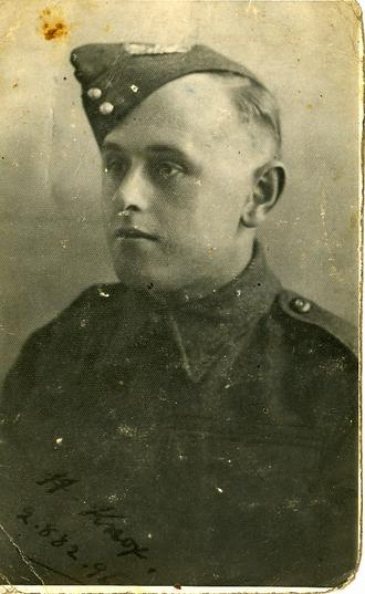 Pte. Harry Knox