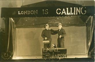 Laurel & Hardy Sketch (POW Show)
