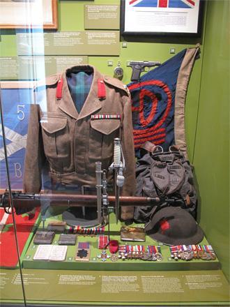 Black Watch Museum Display