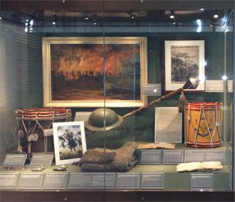 Highlander's Museum Display