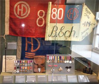 Highlander's Museum 80th Display