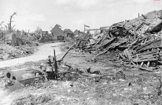 Ruined Mametz, 4th July 1916