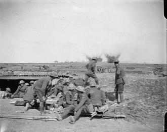 Dressing Dugout nr. Arras