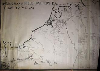 492 (H) Field Battery, V Day to VE Day