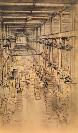 Farrell Etching, Munitions Factory