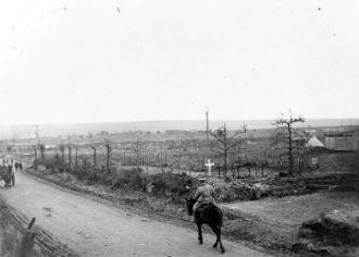 Cemetery, Roclincourt, Oct 1917