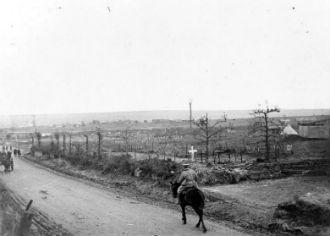Cemetery, Roclincourt, Oct 1917
