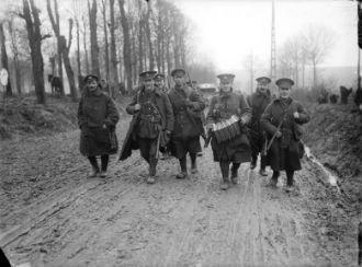 Lancashire Fusiliers, Mailly Maillet
