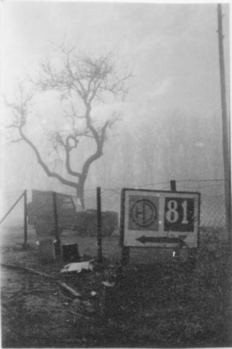 51HD Sign, Reichswald, Mar '45