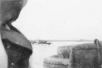 """Duck"" Crossing the Rhine"