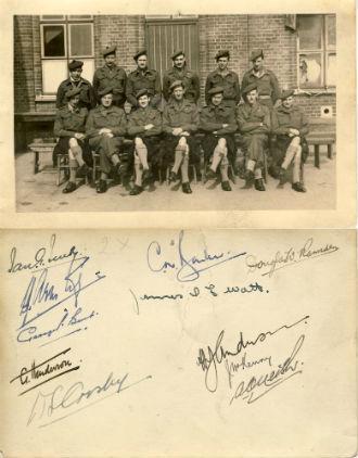 152 Brig. Officers, near Mook
