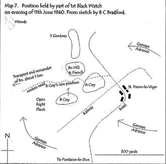 Bradford's Sketch Map