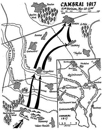 Cambrai Map, Gordons