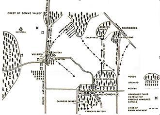 Sketch Map Huchenneville