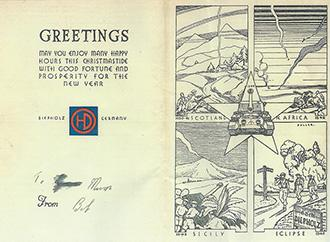 61st Anti-Tank Reg. Christmas Card Greeting