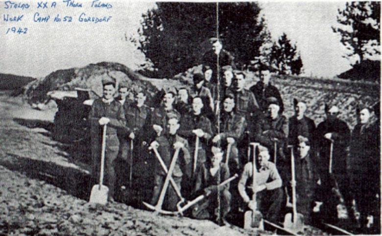Henry Owens, Work Camp, Gorsdorf, 1942