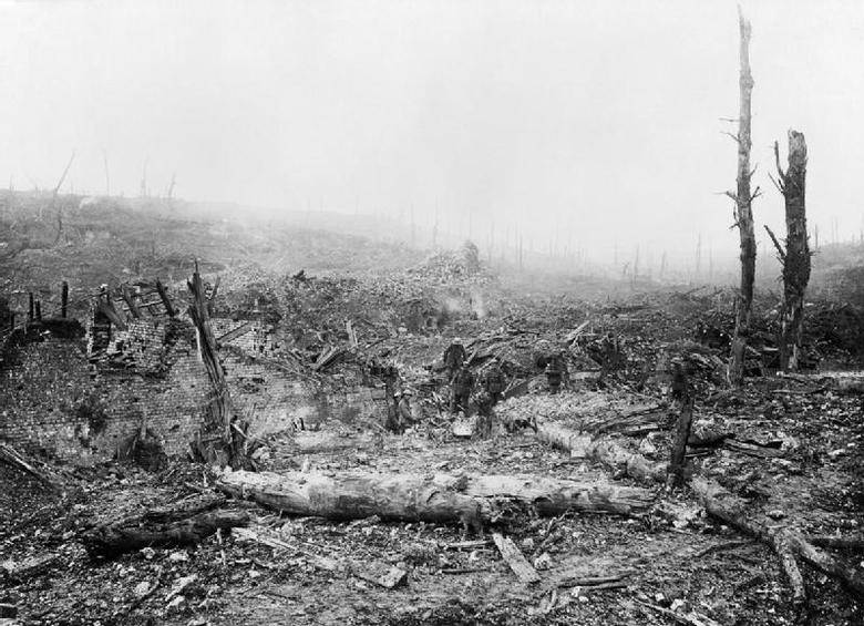 Remains of Beaumont Hamel