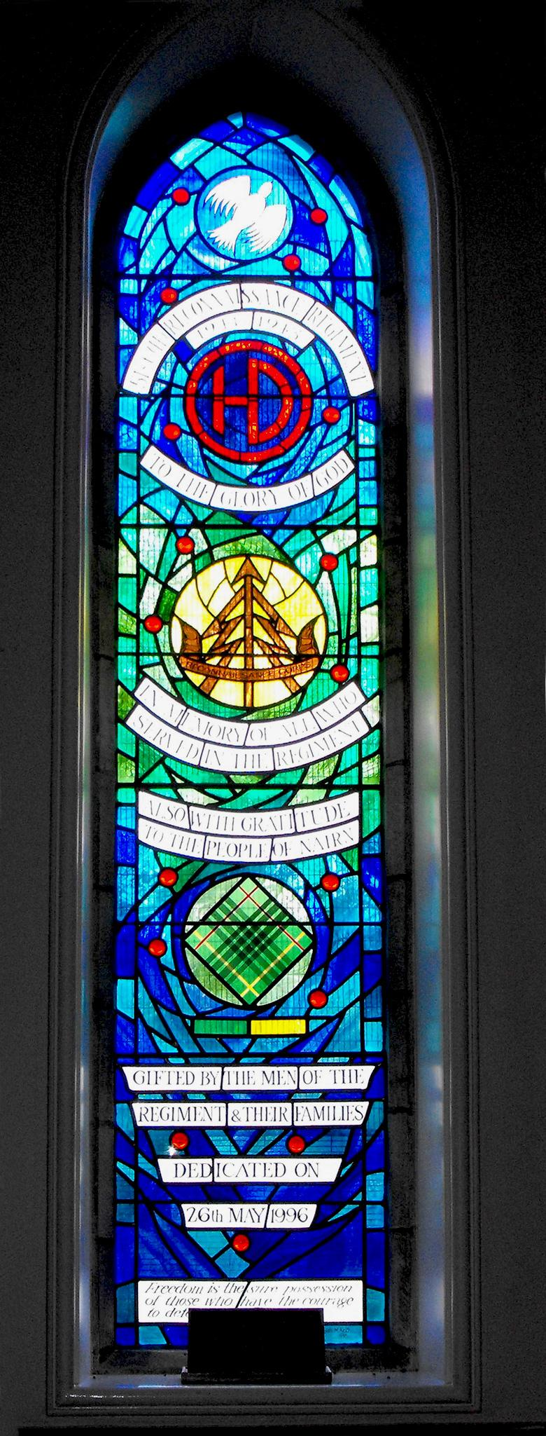 51 (H) Recce Reg Memorial Window