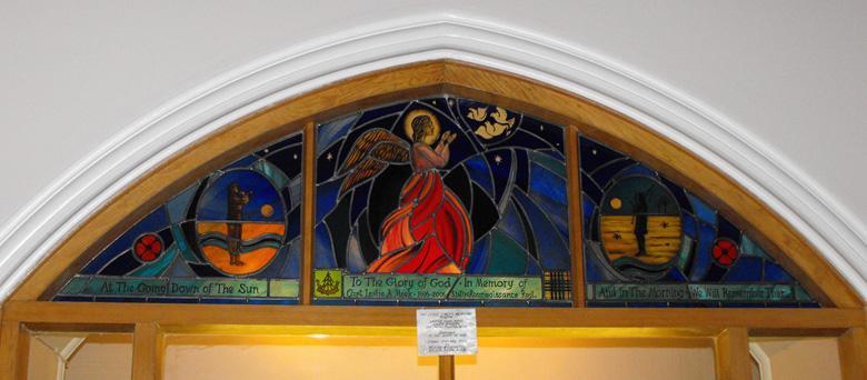 Leslie A Meek Memorial Window
