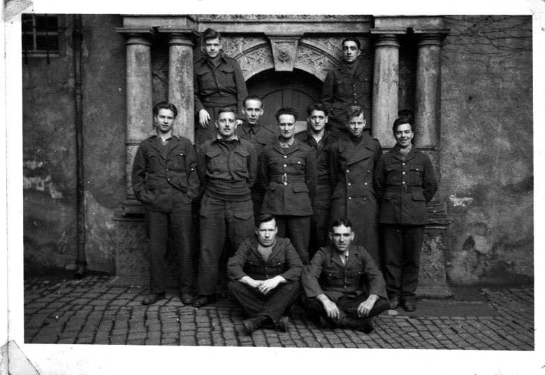 G. Drummond in POW camp