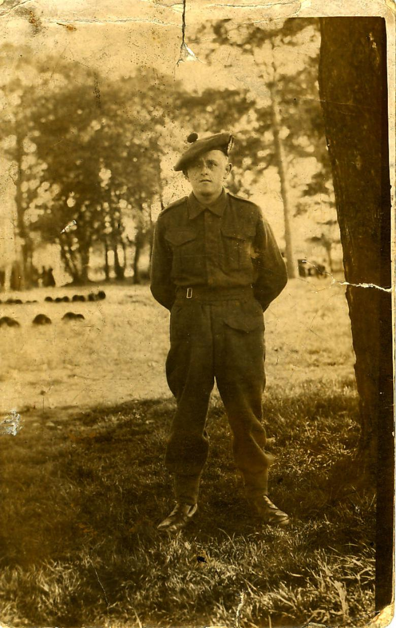 Pte. Harry Knox, May, 1940