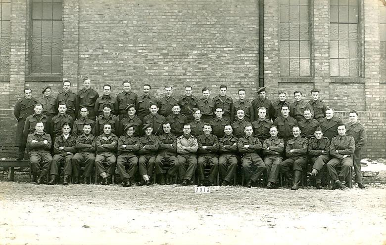 Men from Stalag IX-C, (No. 1012)