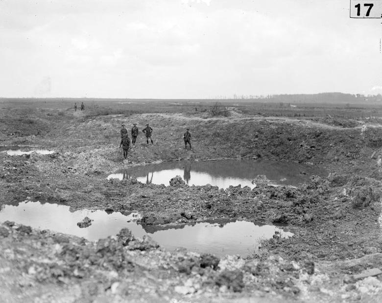 Craters, Mametz, July 1916