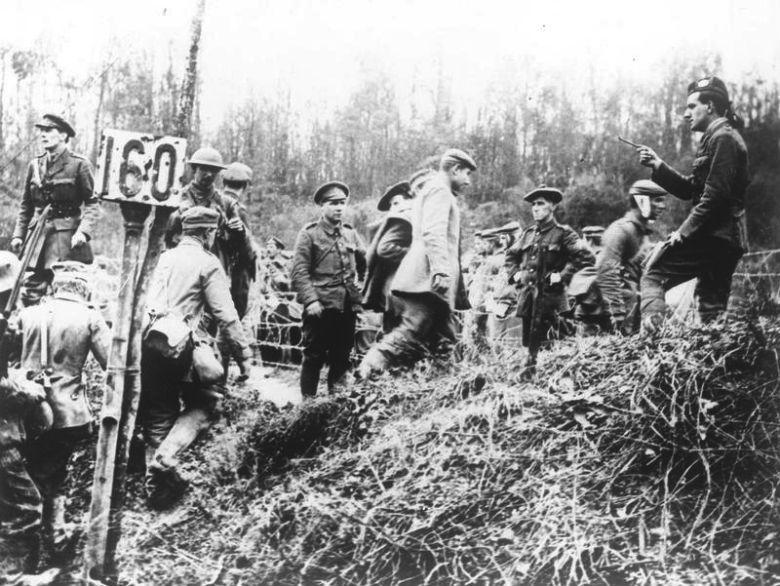 German prisoners, Beaumont Hamel