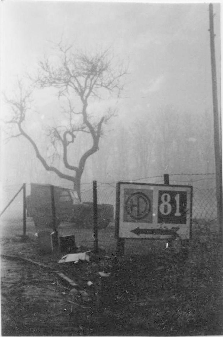 51HD Sign, Reichswald, Mar '45