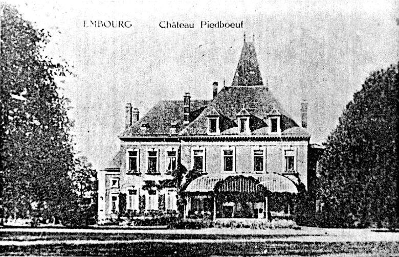 Chateux Peidboeuf, Embourg