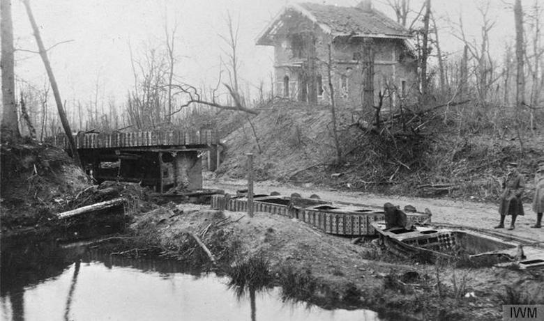 Destroyed Tanks, Bourlon wood