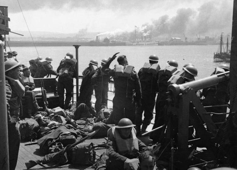 Evacuation from Cherbourg
