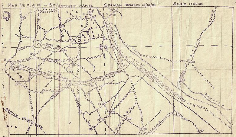 Sketch map, Op. Order 149