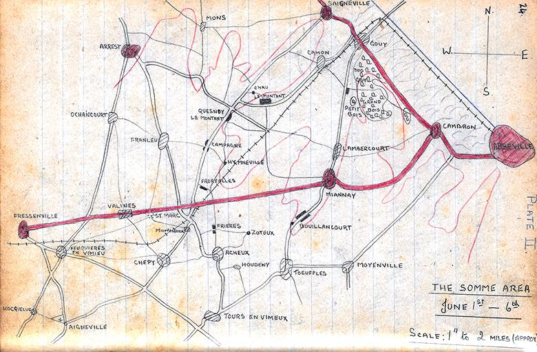 Somme area June 1st-6th 1940