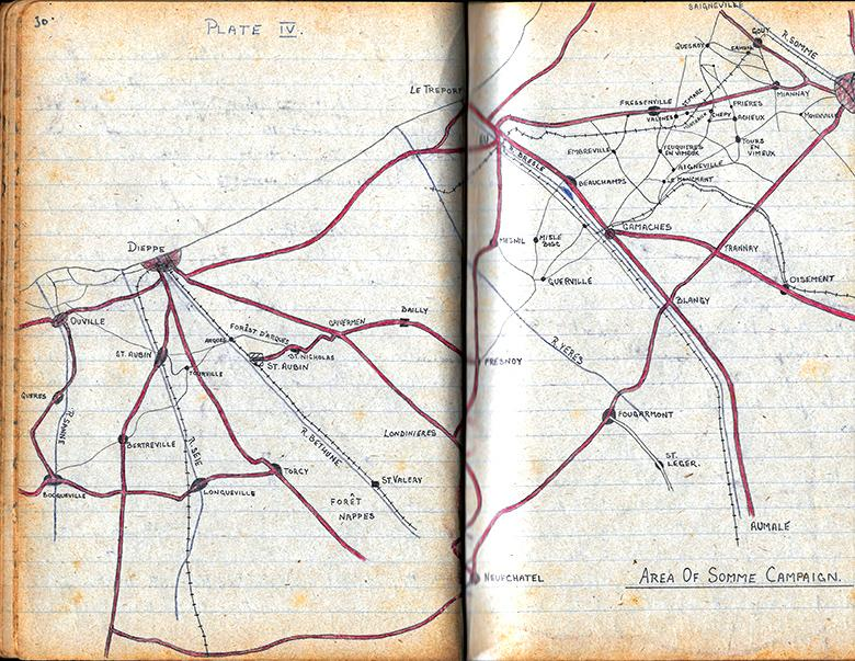 Area of Somme Campaign