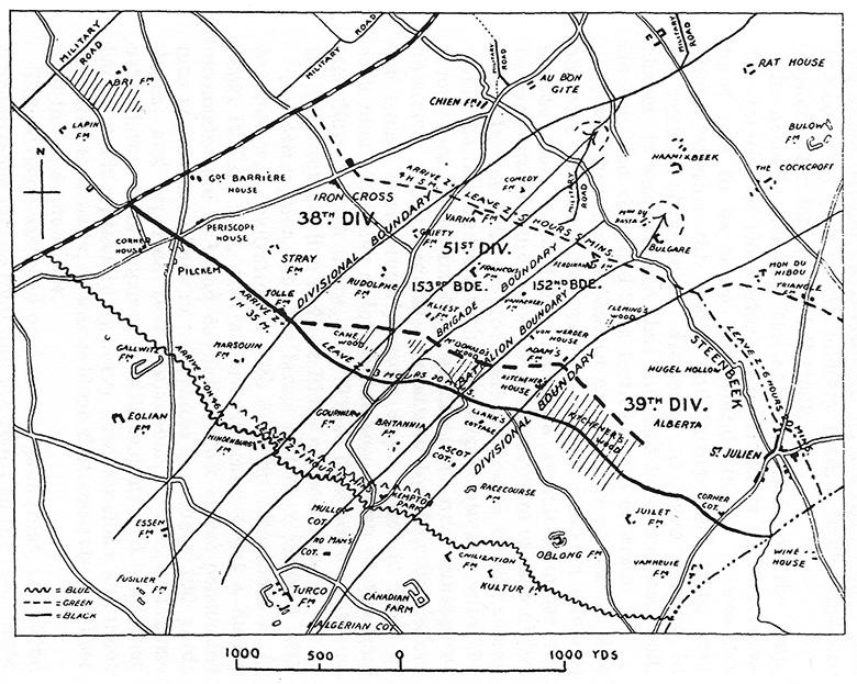 3rd Ypres Attack Plan