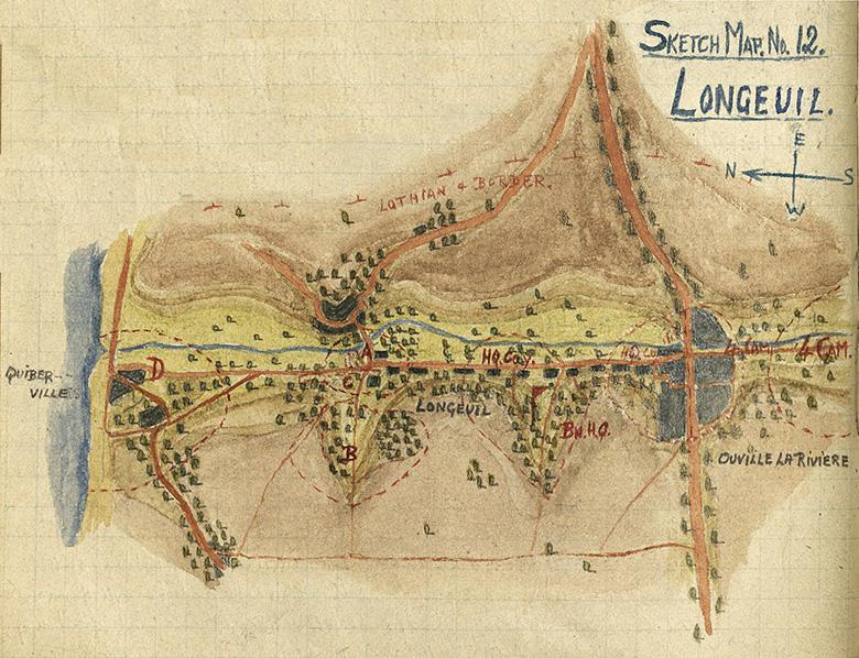 Major Grant Map (No.12), Longeuil