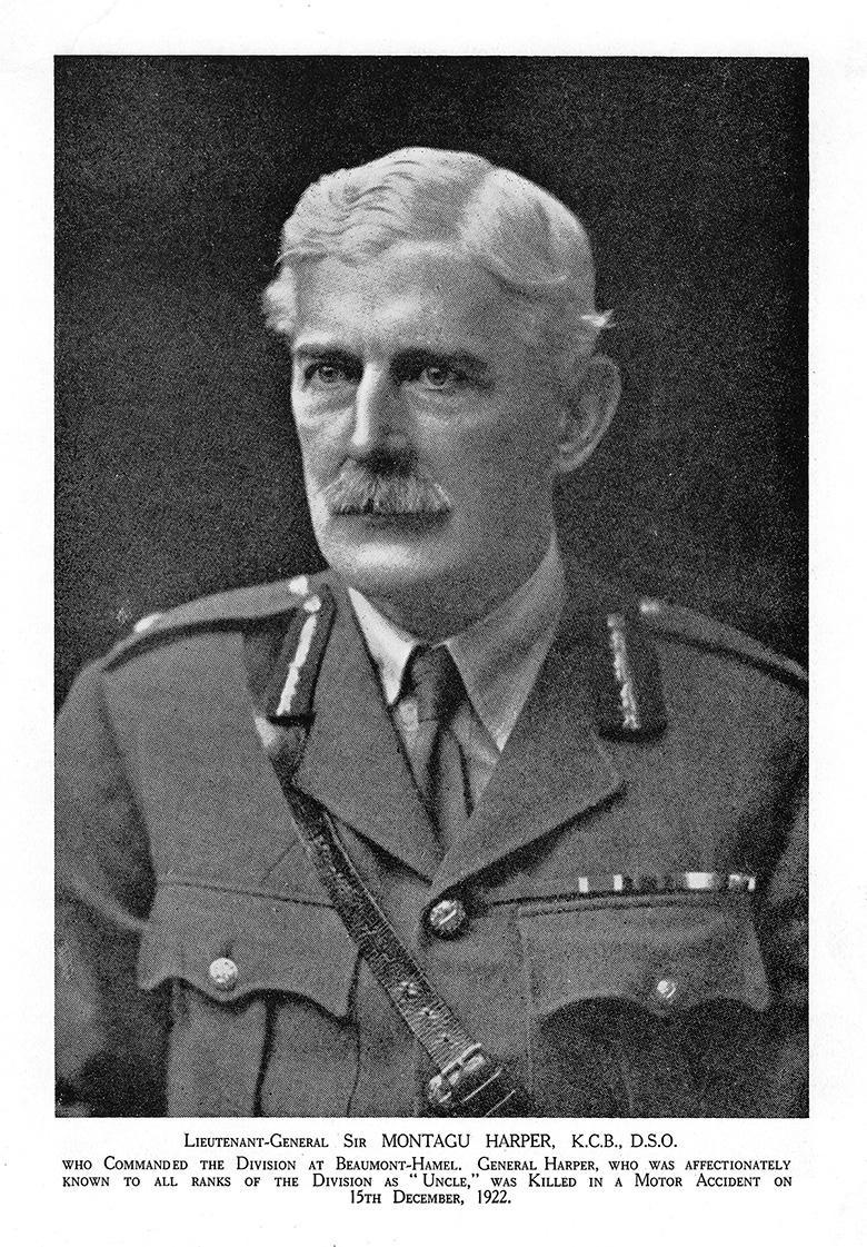 Major General Harper