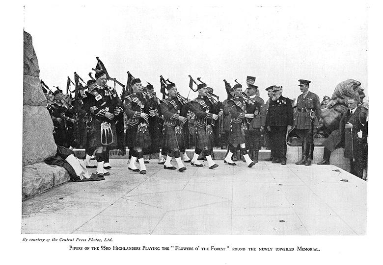 93rd Highlanders, Beaumont Hamel