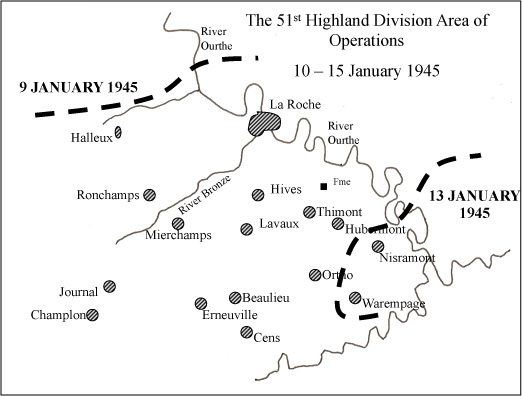 Area of Operations - Ardennes