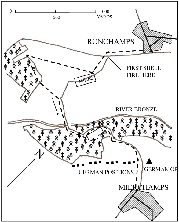 5th Seaforths attack on Mierchamps
