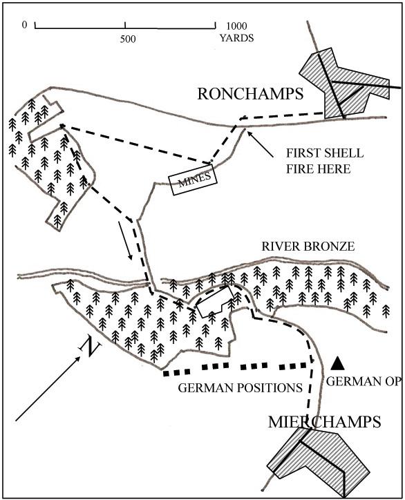ronchamps ardennes january 1945 51st highland division. Black Bedroom Furniture Sets. Home Design Ideas