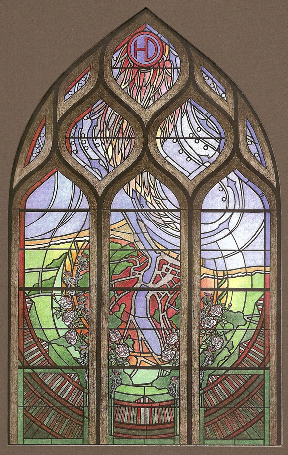 St Valéry, Commemorative Window